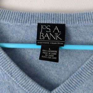 Large Cashmere Jos. A Bank Sweater
